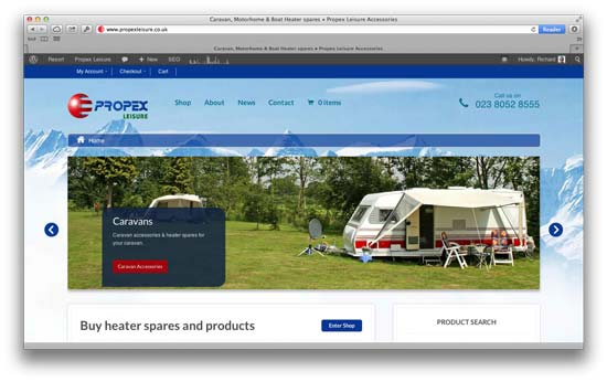 Propex Leisure Website
