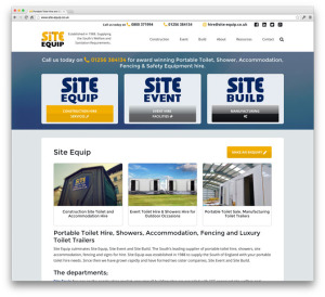 Site Equip Website Design